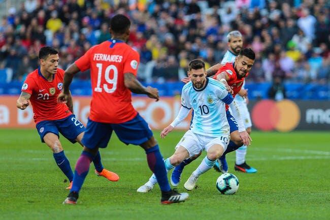 Copa America : L'Argentine 3e, Messi expulsé !
