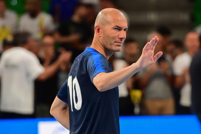 EdF : Zidane a la grande classe avec Deschamps