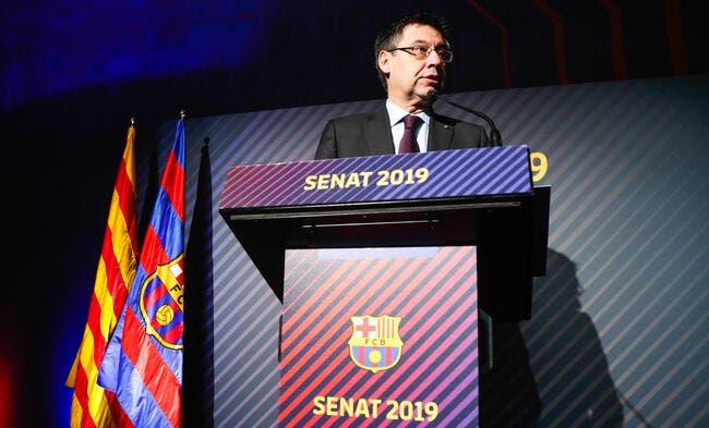 Transfert: le Barça est intéressé par Griezmann, confirme son président