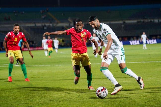 CAN 2019 : L'Algérie impressionne face à la Guinée