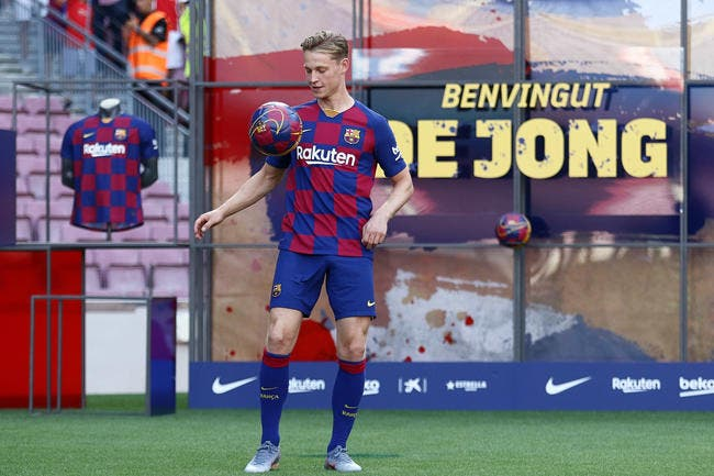 Mercato: De Jong ne voulait plus du Barça, le PSG peut pleurer