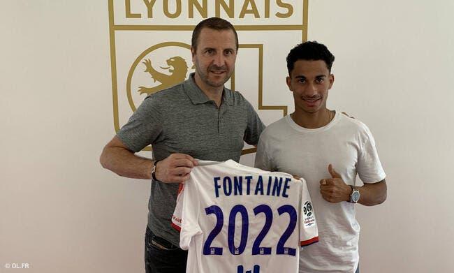 Officiel : Cinquième recrue pour l'OL, Nicolas Fontaine a signé