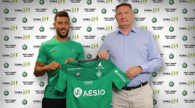 Officiel : L'ASSE s'offre Denis Bouanga pour 5 ME !