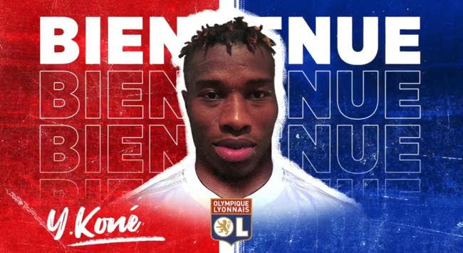 OL : Youssouf Koné signe à Lyon jusqu'en 2024 pour 9ME