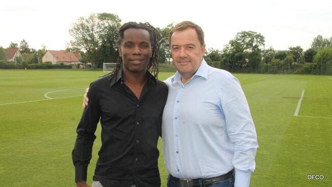 DFCO: Peguy Luyindula fait son grand retour en Ligue 1