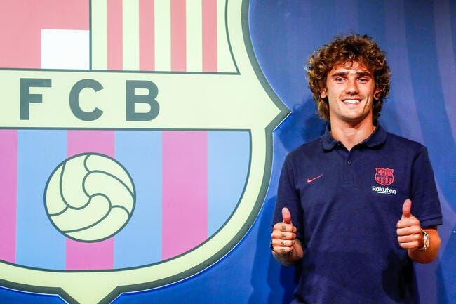 Barça: Griezmann surprend tout le monde avec son numéro de maillot