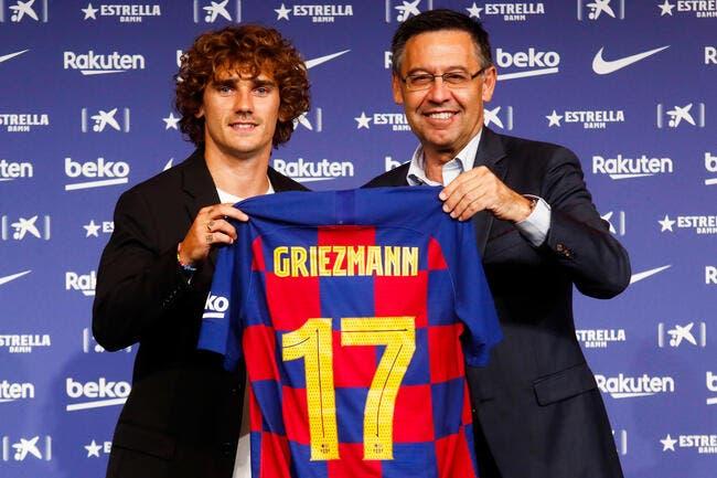 Esp : Mieux que Neymar, moins bien que Messi et CR7, voilà Griezmann !