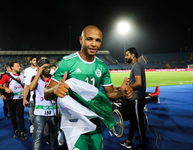 Brahimi va jouer au Qatar — Transfert