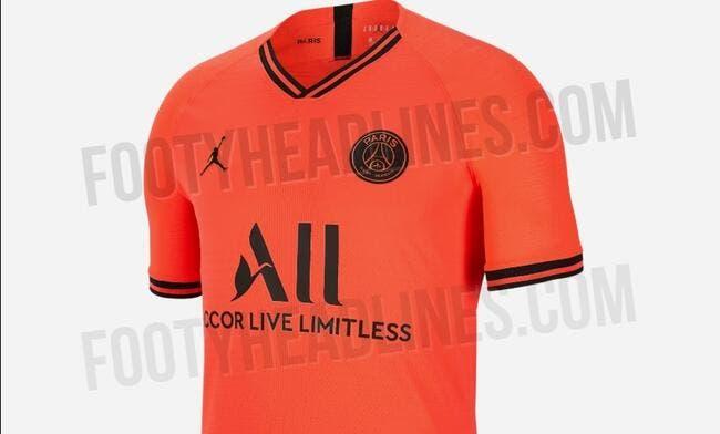 Photos : Un maillot orange pour le PSG, les images fuitent