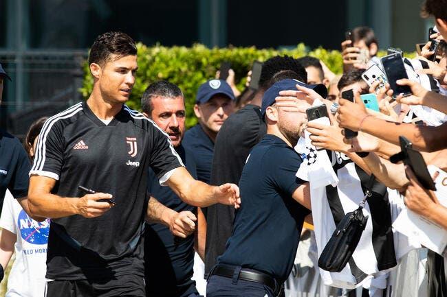 Cristiano Ronaldo pète un câble et s'en prend à la police