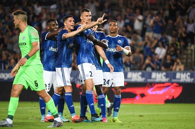 EL : Strasbourg prend l'avantage sur le Maccabi Haïfa