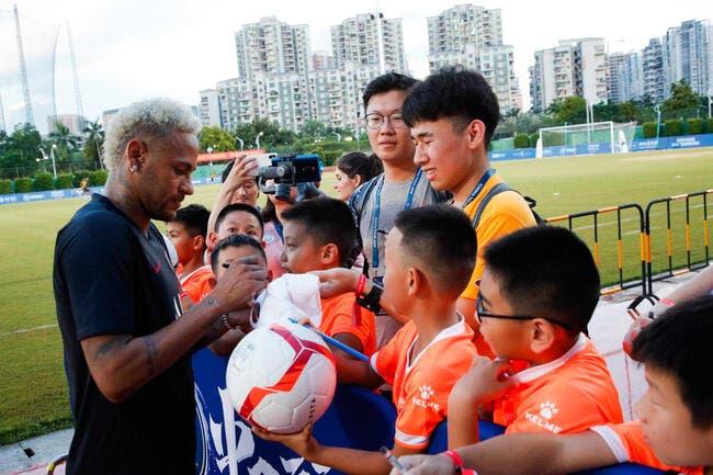 PSG : Un gros indice pour l'avenir avec l'attitude de Neymar en Chine