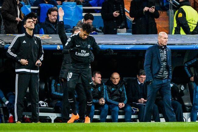 PSG: Zidane lui explique le foot, il ne veut pas de Neymar