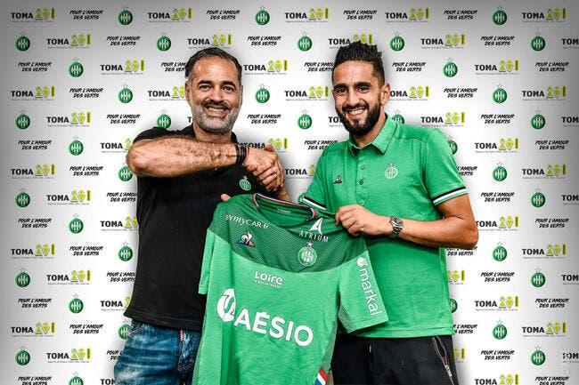 ASSE : Ryad Boudebouz chez les Verts, c'est officiel !