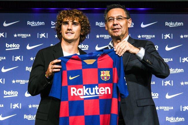 Esp: Griezmann succédera à Messi, c'est le Barça qui le dit