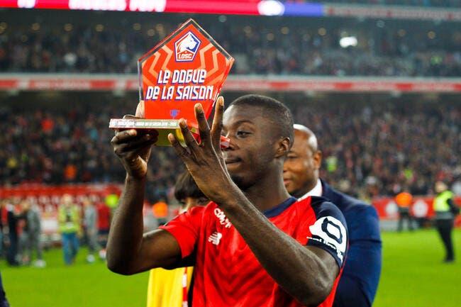 Nicolas Pépé aurait dit oui à Arsenal — LOSC