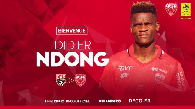 Officiel : Didier Ndong quitte Guingamp et signe à Dijon