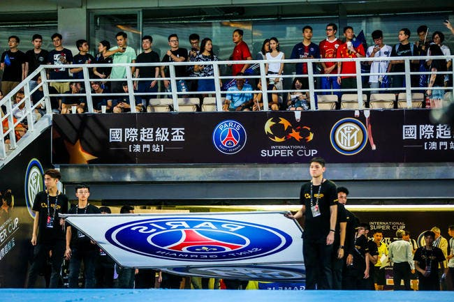 PSG : Paris en Chine, c'est une incroyable armada XXL
