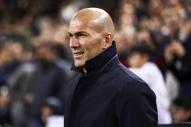 Real: Confiant dans la défaite, Zidane se fait massacrer à Madrid