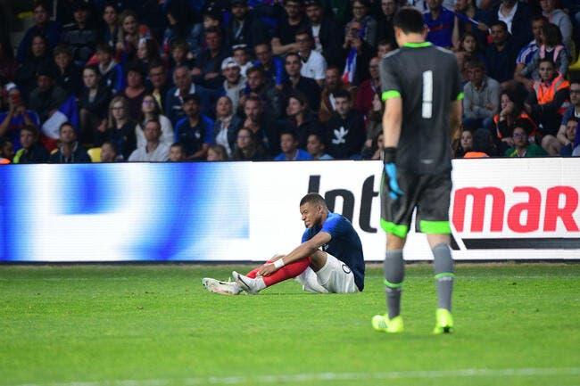 EdF : Kylian Mbappé sort sur blessure !