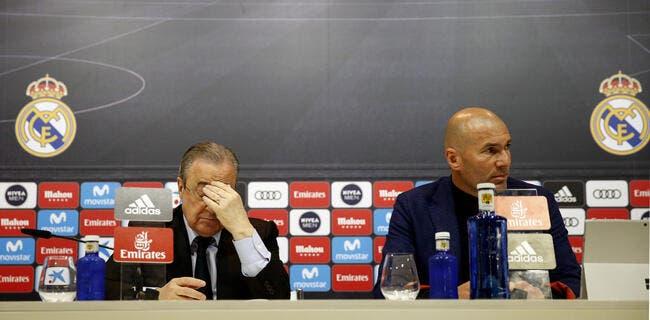 Esp : 455ME et 14 départs, l'incroyable mercato de Zidane à Madrid !