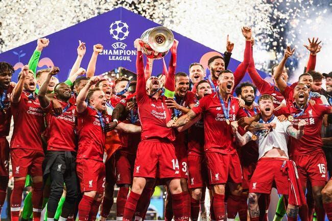 Le grand 6 européen pour Liverpool !