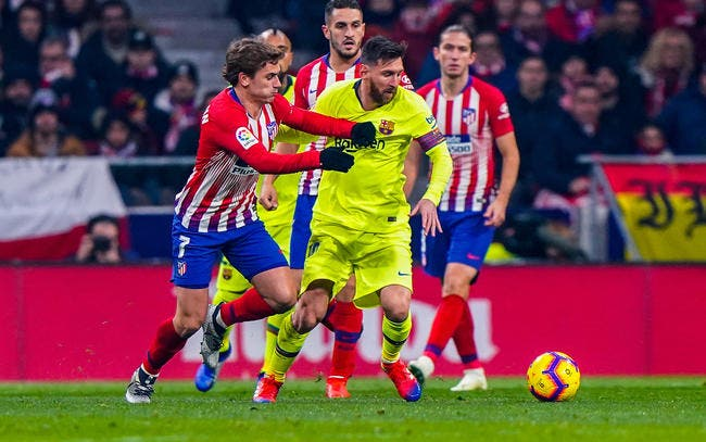 Esp : Messi dit non à la signature de Griezmann au Barça