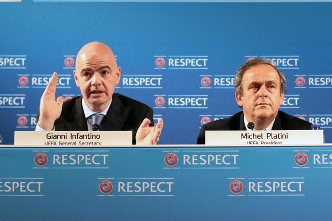 FIFA : Michel Platini détruit son vieil ami Infantino
