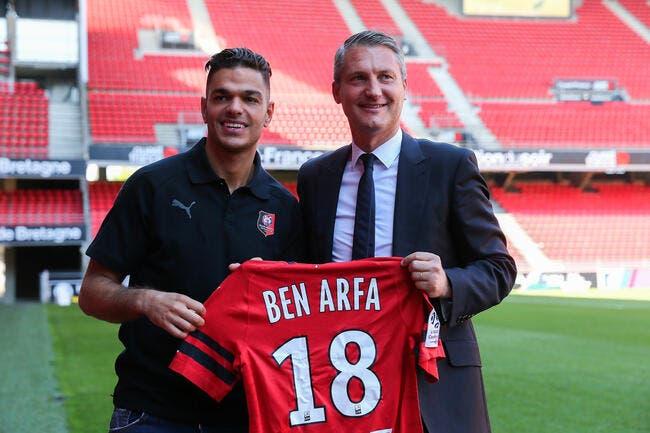 SRFC : Ben Arfa quitte (déjà) Rennes, c'est officiel