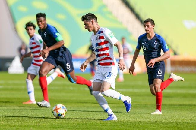 CdM U20 : La France déjà éjectée par les USA !