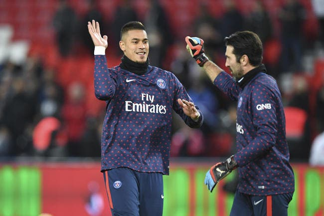 PSG : Areola remercie «la légende et son ami» Gigi Buffon