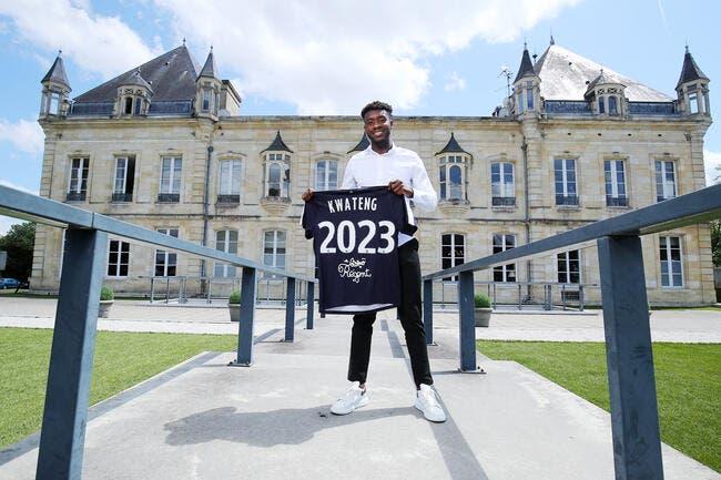 Officiel : Kwateng à Bordeaux jusqu'en 2023