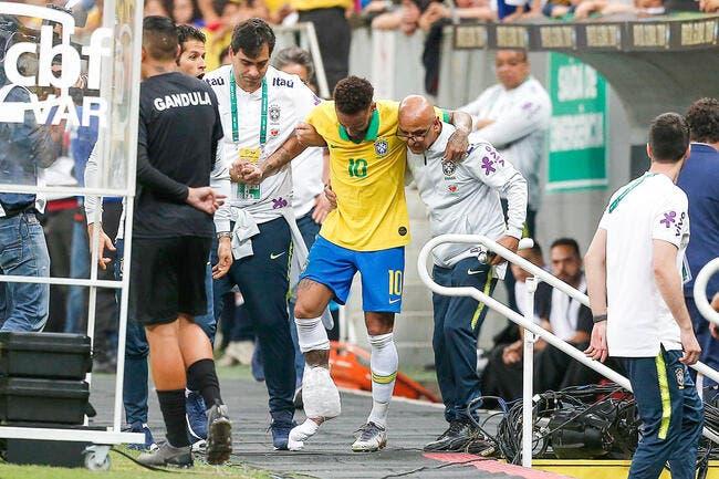 PSG : Neymar est encore blessé, Paris sort du silence !