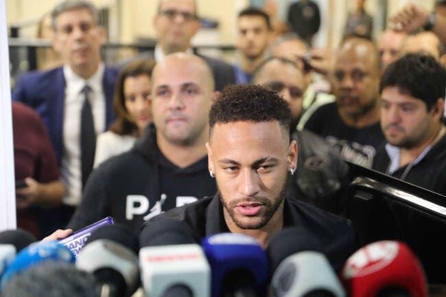 Affaire Neymar : La star du PSG ne dribblera pas la police !