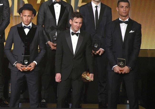 Messi, Cristiano Ronaldo et Neymar pèsent 301ME par an !