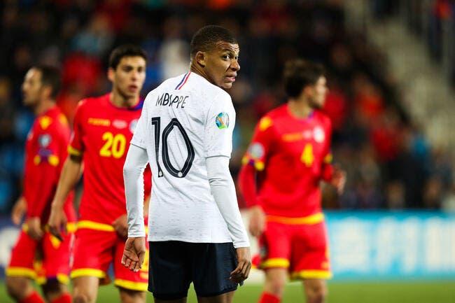 EdF: Mbappé s'énerve, un joueur d'Andorre ne comprend pas ce buzz