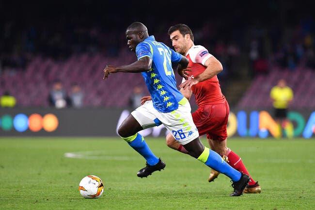 PSG: Koulibaly et Naples résistent, Leonardo tente un passage en force