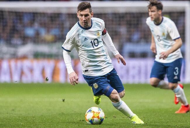 Copa America : Mauvaise surprise pour l'Argentine !