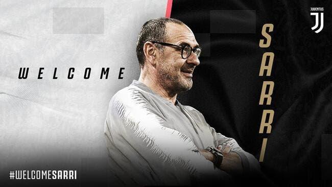 Officiel : Maurizio Sarri quitte Chelsea pour la Juventus !