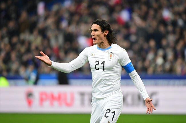 Copa America : Un bijou de Cavani lance l'Uruguay