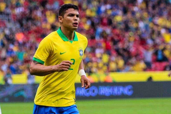 PSG : Thiago Silva out, Leonardo passe à l'action !
