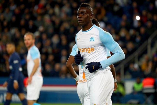 OM : 4ME et Balotelli s'éloigne de Marseille