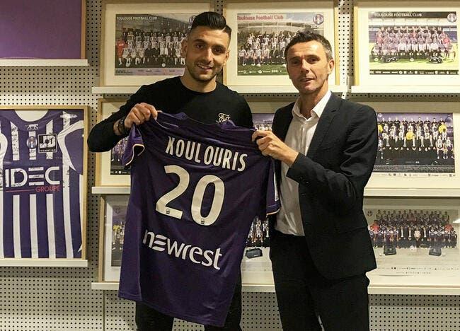 TFC : Koulouris, première pioche de Toulouse au mercato