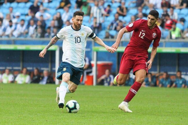 Copa America: Le Qatar craque, l'Argentine passe