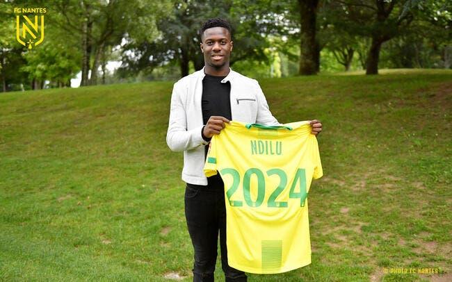 FCN : Bridge Ndilu signe à Nantes jusqu'en 2024