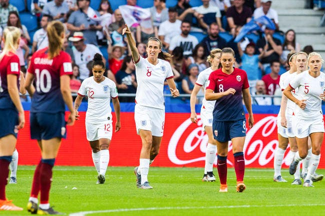 CdM Fem : L'Angleterre explose la Norvège et va en demi-finales