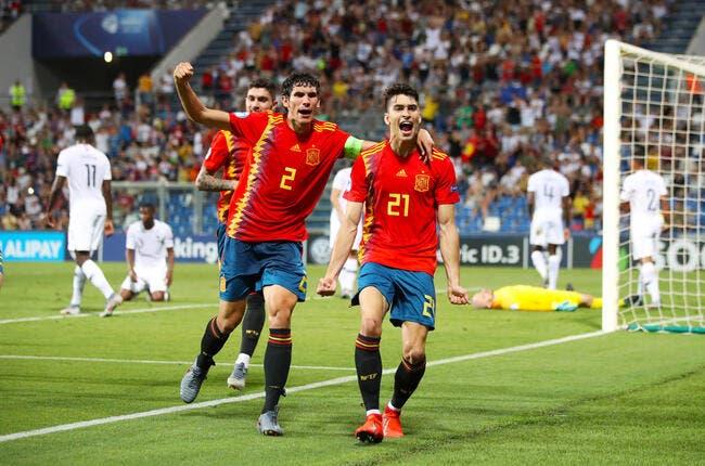 Euro Espoirs : L'Espagne s'amuse face à la France