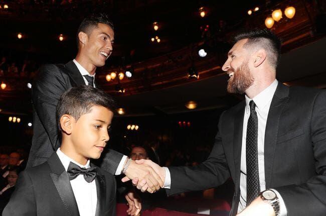 Cristiano Ronaldo et Messi dans la même équipe, il en rêve