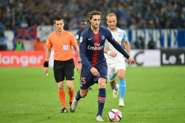 Officiel : La Juve confirme l'arrivée d'Adrien Rabiot