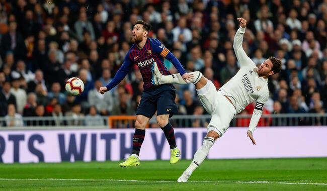 Esp : Sergio Ramos frappe Messi, le Barça hurle au scandale